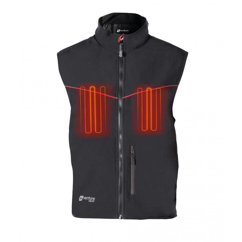 12 Duo Heated Hybrid Motorcycle Vest Plug In Or Portable