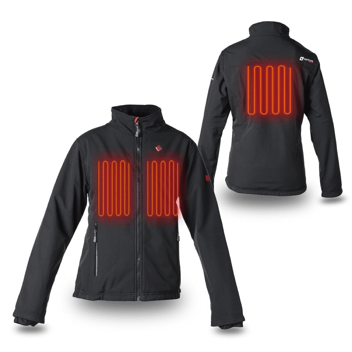 b2b569438f016 Venture Heat Women's Escape Battery Heated Jacket - Zarkie