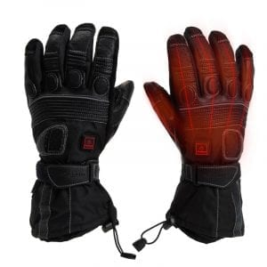 Heated Motorcycle Touring Gloves